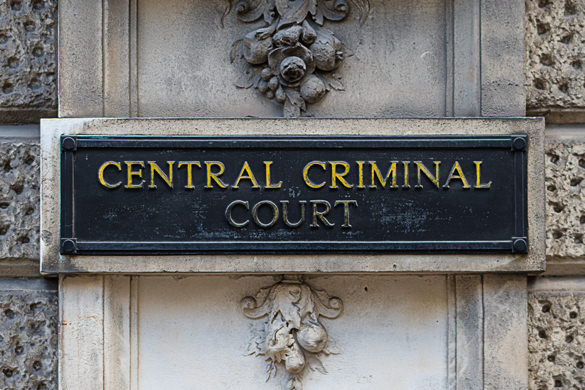 Central Criminal Court in London